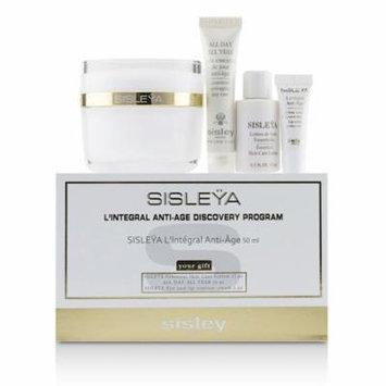 Sisley Sisleya L'Integral Anti-Age Discovery Program: Sisleya Face 50ml, Sisleya Lotion 15ml, Sisleya Eye 2ml, All Day All Year 10ml 4pcs Skincare