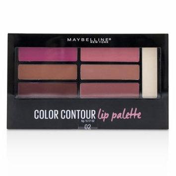 Maybelline Color Contour Lip Palette - # 02 Blushed Bombshell 5g/0.17oz Make Up