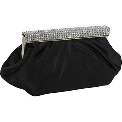 Women's J. Furmani 50340 Rhinestone Clutch 10