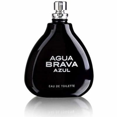 6 Pack - Antonio Puig Agua Brava Azul Eau De Toilette Natural Spray 3.4 oz