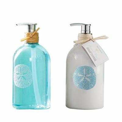 Two's Company Sea Life Hand Soap and Coral Reef Hand Lotion Set