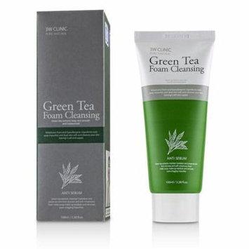 3W Clinic Green Tea Foam Cleansing 100ml/3.38oz Skincare