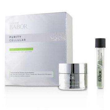 Babor Doctor Babor Purity Cellular SOS De-Blemish Kit: De-Blemish Cream 50ml/1.7oz + De-Blemish Powder 5g/0.16oz 2pcs Skincare
