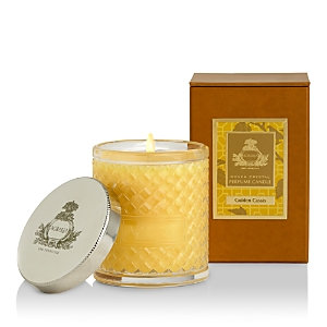Agraria - Woven Crystal Candle - Golden Cassis