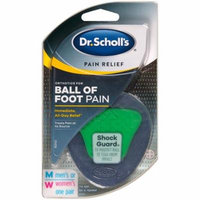 4 Pack Dr. Scholl's Pain Relief Ball Of Foot Pain Men/Women One Pair each