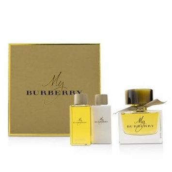 My Burberry Coffret: Eau De Parfum Spray 90ml/3oz + Body Lotion 75ml/2.6oz + Bathing Gel Gel 75ml/2.