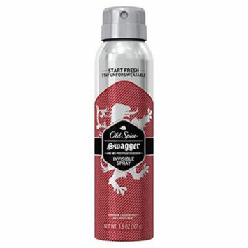 6 Pack Old Spice Swagger 48hr Anti-Perspirant & Deodorant Spray, 3.8 Oz Each