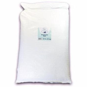 Dead Sea Salt Fine Grain 55 lb Bulk (25 kg) by Natural Elephant 100% Natural & Pure for Psoriasis Eczema Acne & Other Dermatological Needs …