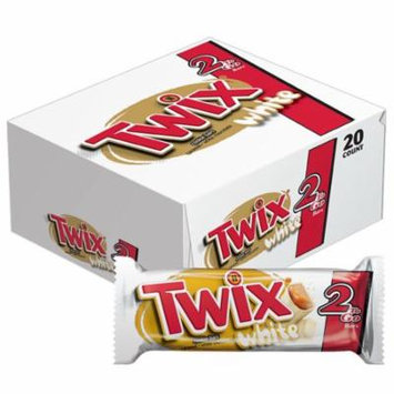 Twix 368300 Twix White Sharing Size 2.64 Ounce 20 Count 4/Case