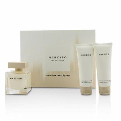 Narciso Coffret: Eau De Parfum Spray 90ml/3oz + Body Lotion 75ml/2.5oz + Shower Cream 75ml/2.5oz-3pc