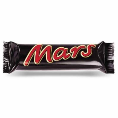 Mars Chocolate Bar - 51g - Pack of 3 (51g x 3 Bars)