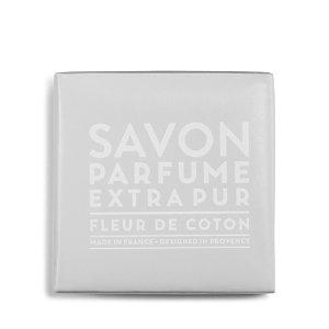 Compagnie De Provence Scented Bar Soap, Cotton Flower