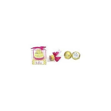 Feeling Smitten Large Mimosa Cupcake Bath Bomb - Tangerine Melon Shower Truffle - Lemon Meringue Bath Pop