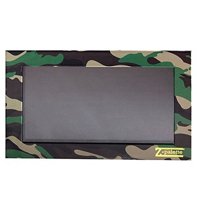 Z Palette Large Camouflage Camo Print with 20 Piece Metal Stickers