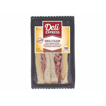 Deli Express Turkey Sandwich, 4.4 Ounce -- 10 per case.