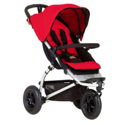 Mountain Buggy Swift Compact Stroller, Berry