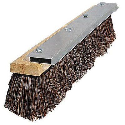 TOUGH GUY 10H924 Push Broom, Palmyra, Hrdwd Bock,24 In. OAL