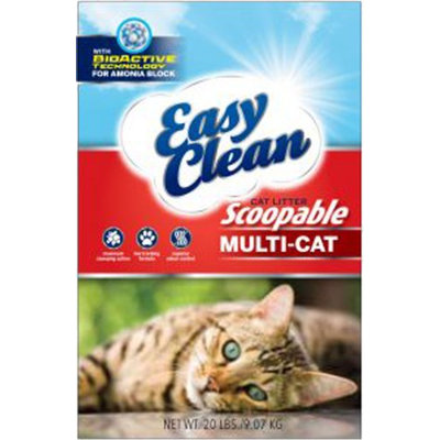 Pestell Pet Products EASY CLEAN MULTI-CAT SCOOPABLE CAT LITTER