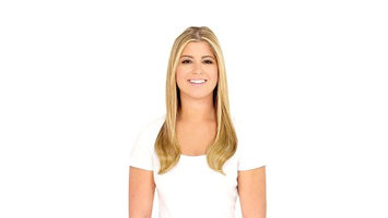 As Seen on TV Secret Extensions Double Volume, Red Blonde, 16 inches / 70g of Hair