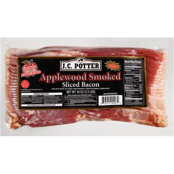 Jcp Specialty Foods Co. J.C. Potter® Applewood Smoked Sliced Bacon, 40 oz