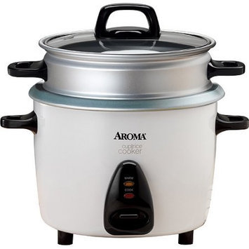 Aroma ARC-730-1NG 10-Cup Pot Style Dry Rice Cooker and Steamer