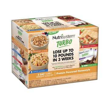 Nutrisystem 5 Day Turbo Weight Loss Kit, Protein Powered Homestyle