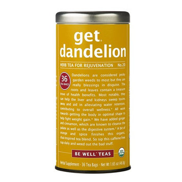 The Republic Of Tea, Get Dandelion - Herb Tea For Rejuvenation, 36 Tea Bags