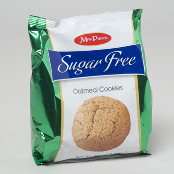 Dollaritemdirect COOKIES SUGAR FREE OATMEAL 7OZ BAG MRS. PURE'S, Case Pack of 12