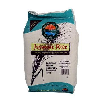 Otis Mcallister Emerald River Jasmine Rice, Imported, 20 Lb