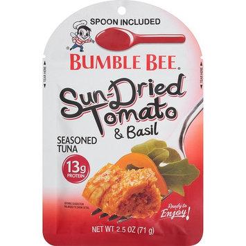 Bumble Bee Sun-Dried Tomato & Basil Seasoned Tuna, 2.5 Ounce Pouch 12 Count [Sun-Dried Tomato & Basil Seasoned Tuna]