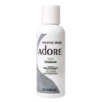 Adore Semi-Permanent Haircolor #155 Titanium 4 Ounce (118ml)