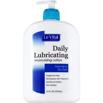Le Vital 2122794 Daily Lubricating Moisturizing Lotion for Normal to Dry Skin - Case of 12