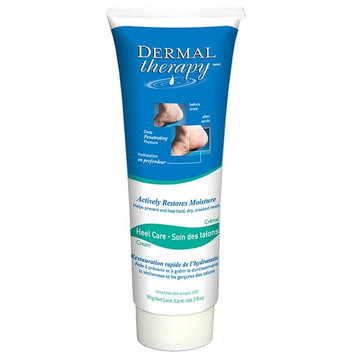 Dermal Therapy 3 Ounce Cracked Heel Treatment - Non Greasy Foot Care Lotion To Repair Dry Feet - Urea Cream Works Wonders On Cracked Heels