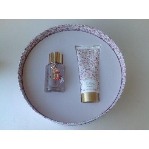 Ch L'Eau By Carolina Herrera 1.7oz Eau de Toilette & 3.4 oz Body Lotion for Women *2PC Gift Set