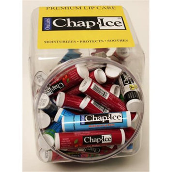 Chap Ice Variety Pack Of 3 Flavors Lip Balm Stick, 24-count