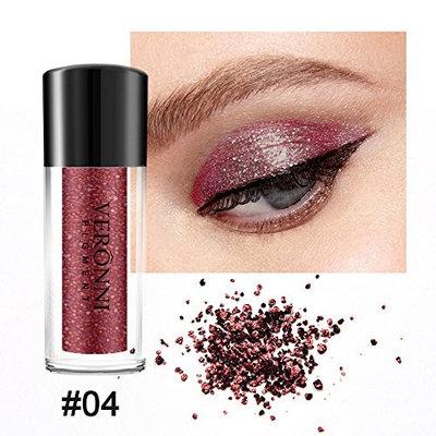 Fenleo Diamond Eye Shadow Makeup Pearl Metallic Eyeshadow Makeup 12 Colors Available