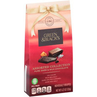 Green & Black's Assorted Collection Pure Dark & Milk Chocolate Variety Pack 4.23 oz. Box