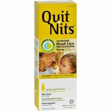 Hyland's Quit Nits Everyday Head Lice Preventative Spray - 4 Oz