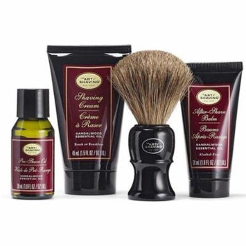 4 Pack - The Art of Shaving The Sandalwood Mid Size Kit 1 ea