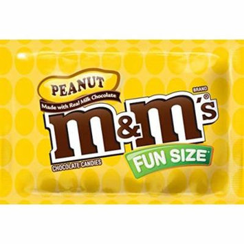 M&M's Peanut Chocolate, Classic Candy (23 lbs) Bulk of Fun Size Snacks in a Box. Perfect for a Party, Buffet, Pinata, Halloween or Valentine Day Gift Baskets