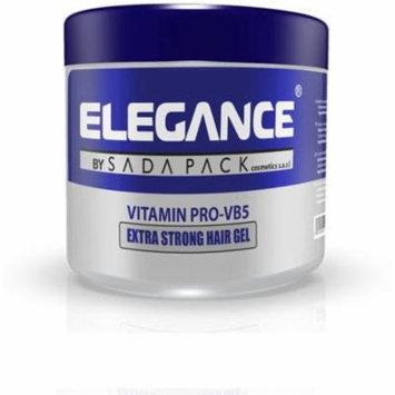 4 Pack - Elegance Gel Vitamin Pro Extra Strong Hold 17.6 oz