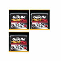 Gillette Trac II Plus Refill Razor Blades 10 ct. (Pack of 3) + Yes to Coconuts Moisturizing Single Use Mask
