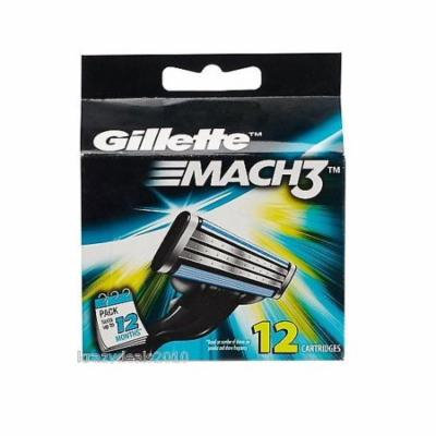 Gillette Mach3 Refill Cartridges, 12 Ct. + Yes to Coconuts Moisturizing Single Use Mask
