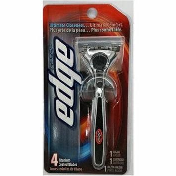 Schick Edge Razor Blade Handle + Yes to Coconuts Moisturizing Single Use Mask