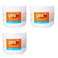 Yes To Carrots Nourishing Fragrance Free Intense Hydration Night Cream, 1.7 Oz (Pack of 3) + Yes to Tomatoes Moisturizing Single Use Mask