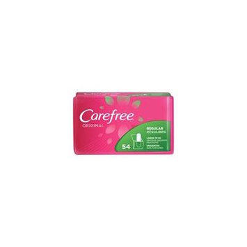 3 Pack Carefree Original Unscented Liners To Go, Regular, 54 Pantiliners Each