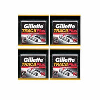Gillette Trac II Plus Refill Razor Blades 10 ct. (Pack of 4) + Yes to Coconuts Moisturizing Single Use Mask