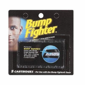 Bump Fighter Refill Cartridge Blades 5 Ct Each + Yes to Coconuts Moisturizing Single Use Mask