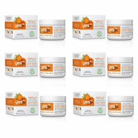 Yes To Carrots Normal To Dry Skin, Fragrance Free, Intense Hydration Night Cream, 1.7 Oz (Pack of 6) + Yes to Tomatoes Moisturizing Single Use Mask