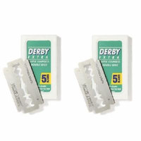 Derby Extra Double Edge Blades, 5 ct. (Pack of 2) + Yes to Coconuts Moisturizing Single Use Mask